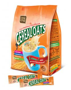 Lecos 3in1 Cereal Oat 30g x 20's