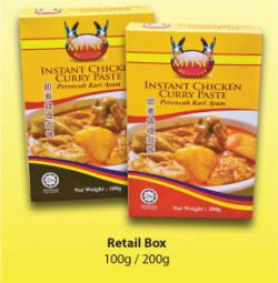 Curry Chicken 200g