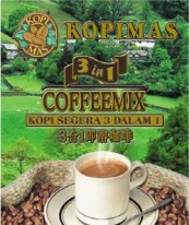 Kopimas Coffee Mix 3in1 20g x 30's, 9555025000128