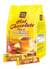 Lecos Hot Chocolate 3in1 30g x 20's, 9555025000036