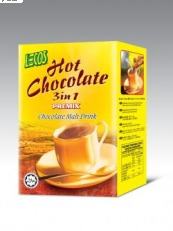 Lecos Hot Chocolate 3in1 30g x 6's Box, 9555025000890