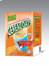 Lecos 3in1 Cereal Oat 30g x 6's Box, 9555025001804