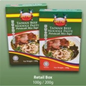 Taiwan Beef Noodle 200g, 9555617400435